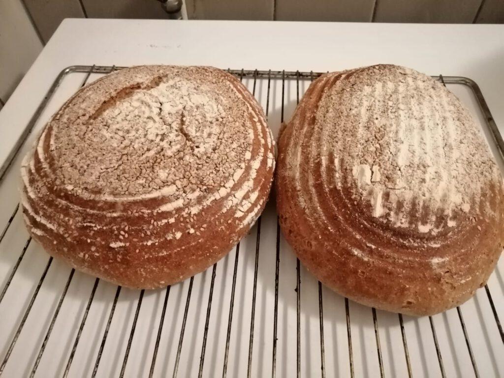 bread baking as free activity